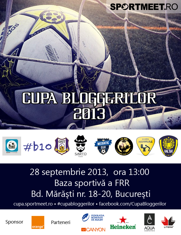 Afis Cupa Bloggerilor 2013